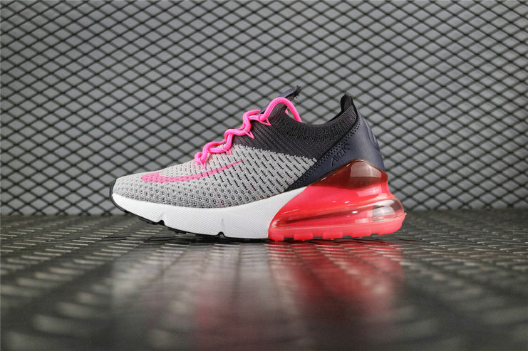 Where To Buy Womens Nike Air Max 270 Flyknit Nike Flyknit Half-Palm Cushion AH8050 -010
