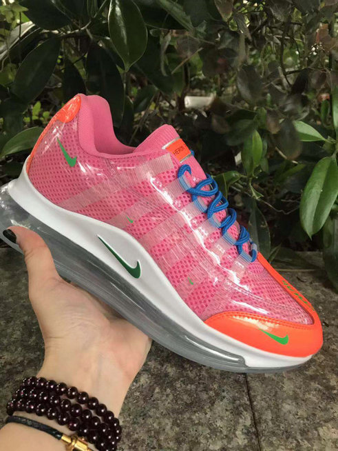 Where To Buy Womens Nike Air Max 720-95 Heron Preston By You Pink Orange Blue White Green