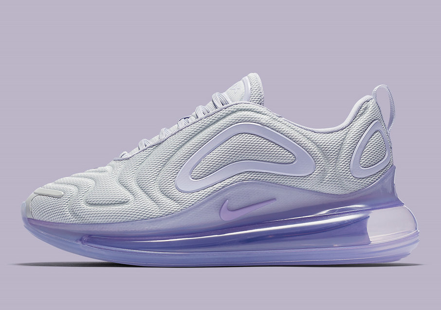 Where To Buy Womens Nike Air Max 720 Pure Platinum Oxygen Purple-Oxygen Purple-Space Blue AR9293-009