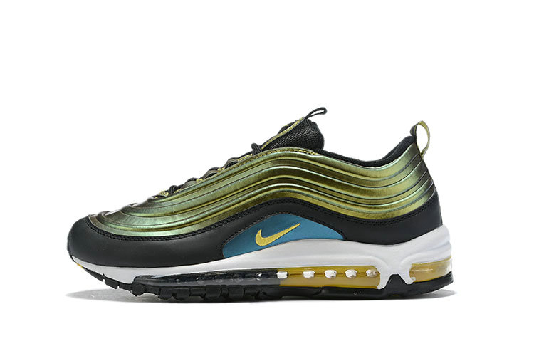 Where To Buy Womens Nike Air Max 97 LX Olive Green Black White Gold