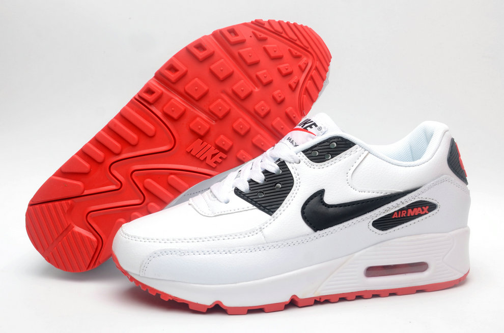 Where To Buy Womens Nike Air Maxs 90 Classic White Red Black