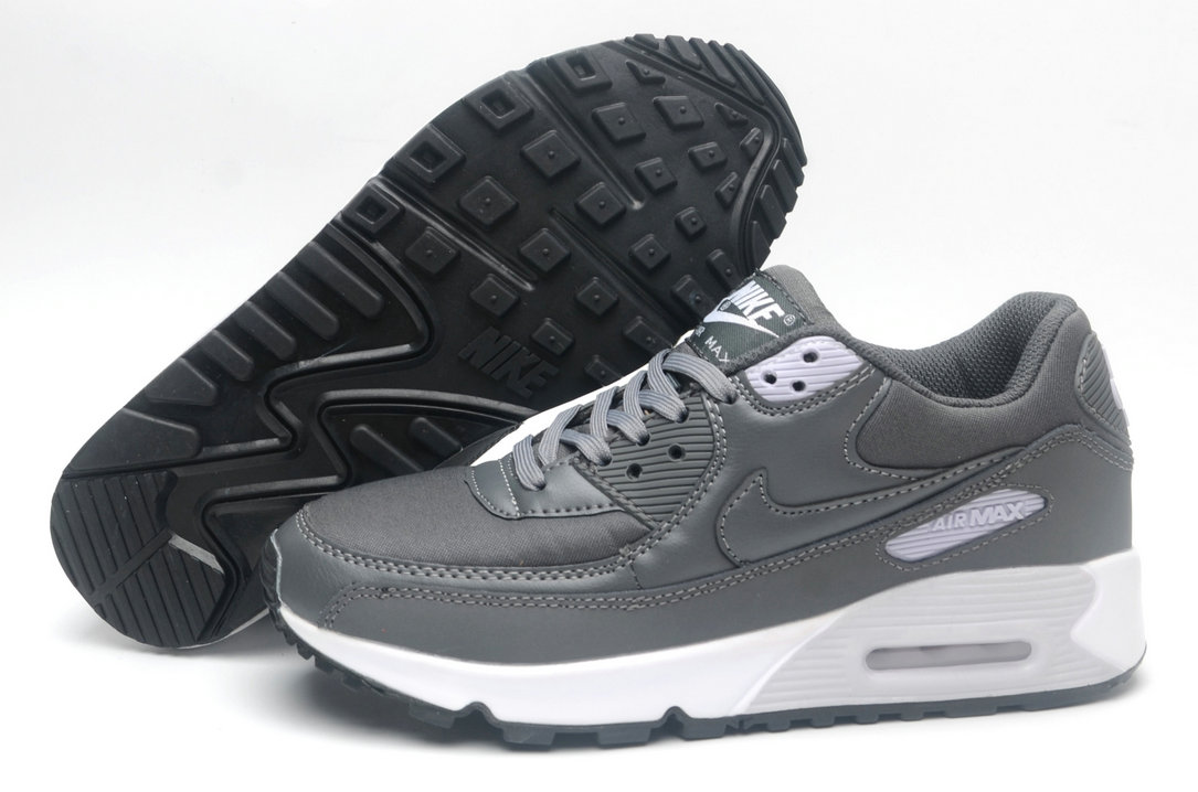 Where To Buy Womens Nike Air Maxs 90 Wolf Grey White Black