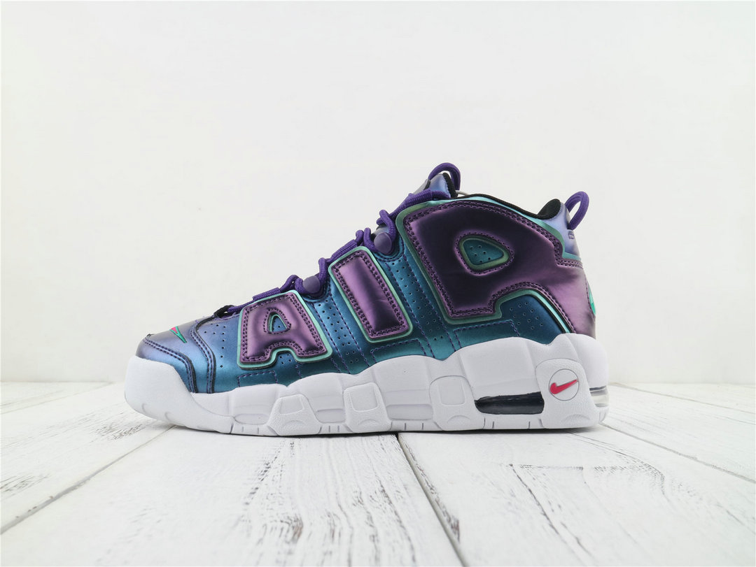 Where To Buy Womens Nike Air More Uptempo Court Purple Rush Pink-Neptune Green 922845 500