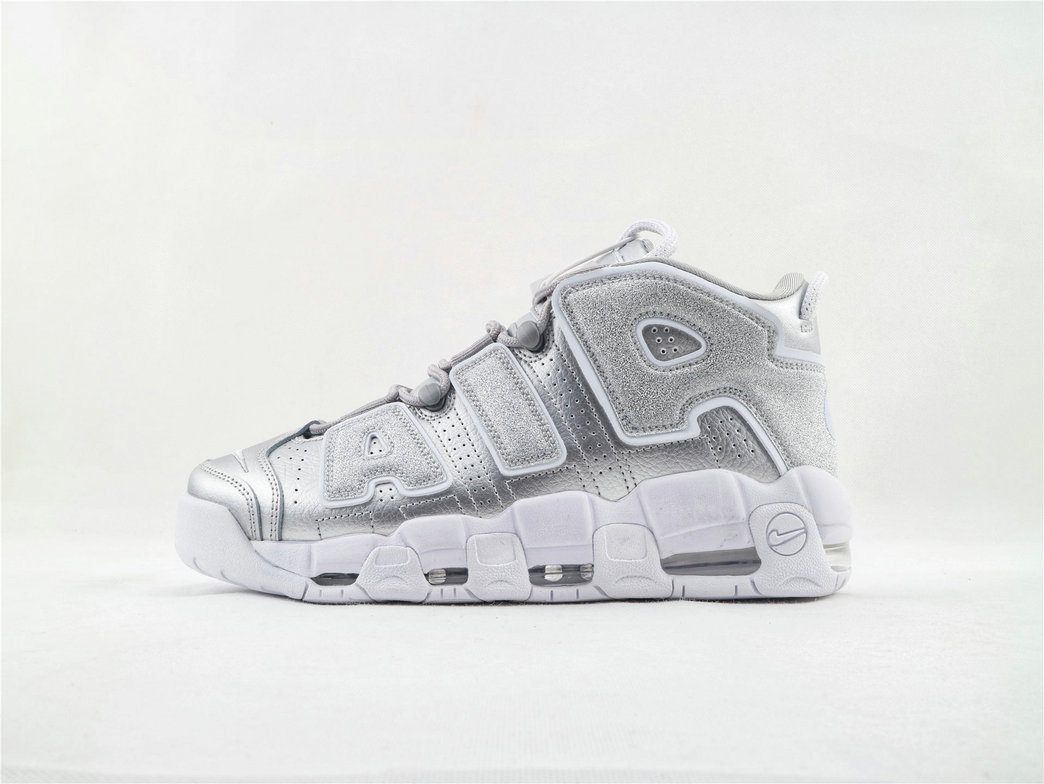 Where To Buy Womens Nike Air More Uptempo Metallic Silver 917593 003