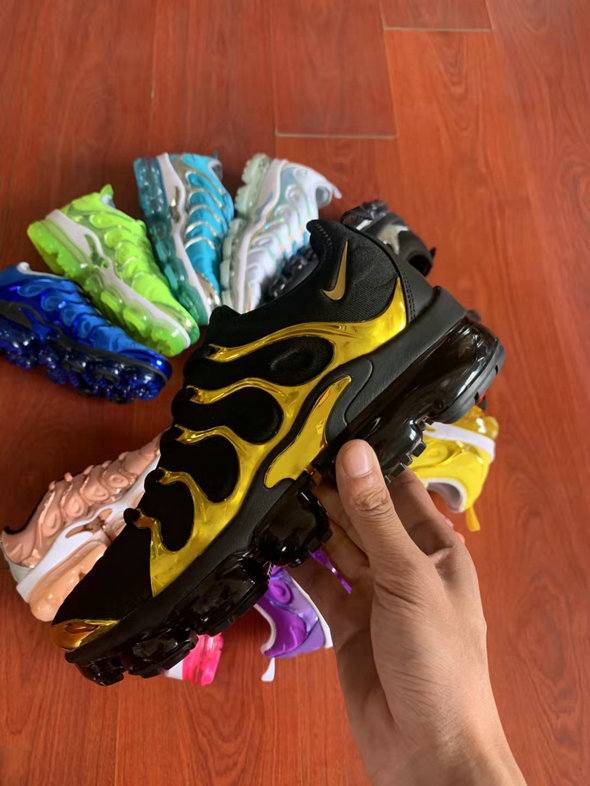 Where To Buy Womens Nike Air VaporMax Plus TN Black Golden