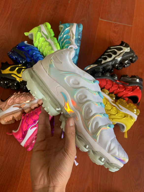 Where To Buy Womens Nike Air VaporMax Plus TN Grey Colorful