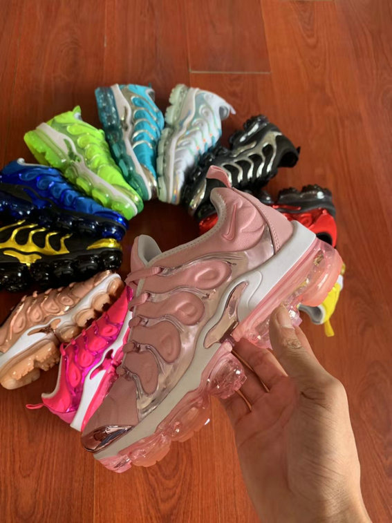Where To Buy Womens Nike Air VaporMax Plus TN Pink Golden White