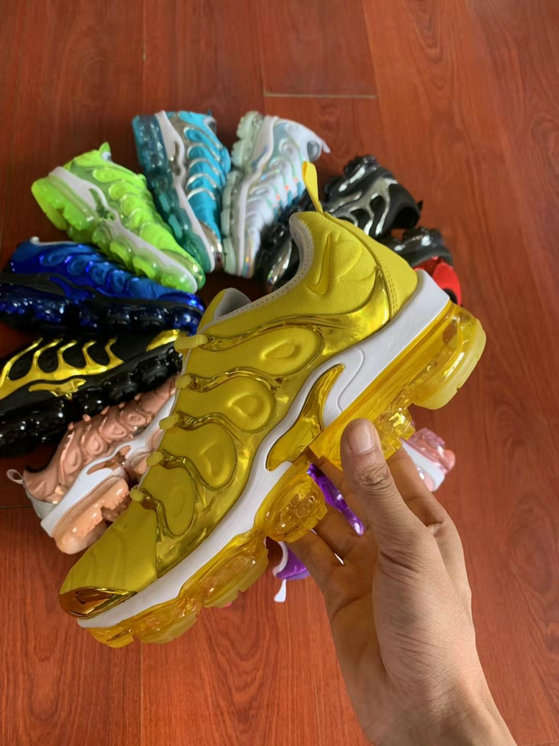 Where To Buy Womens Nike Air VaporMax Plus TN Yellow Gold White