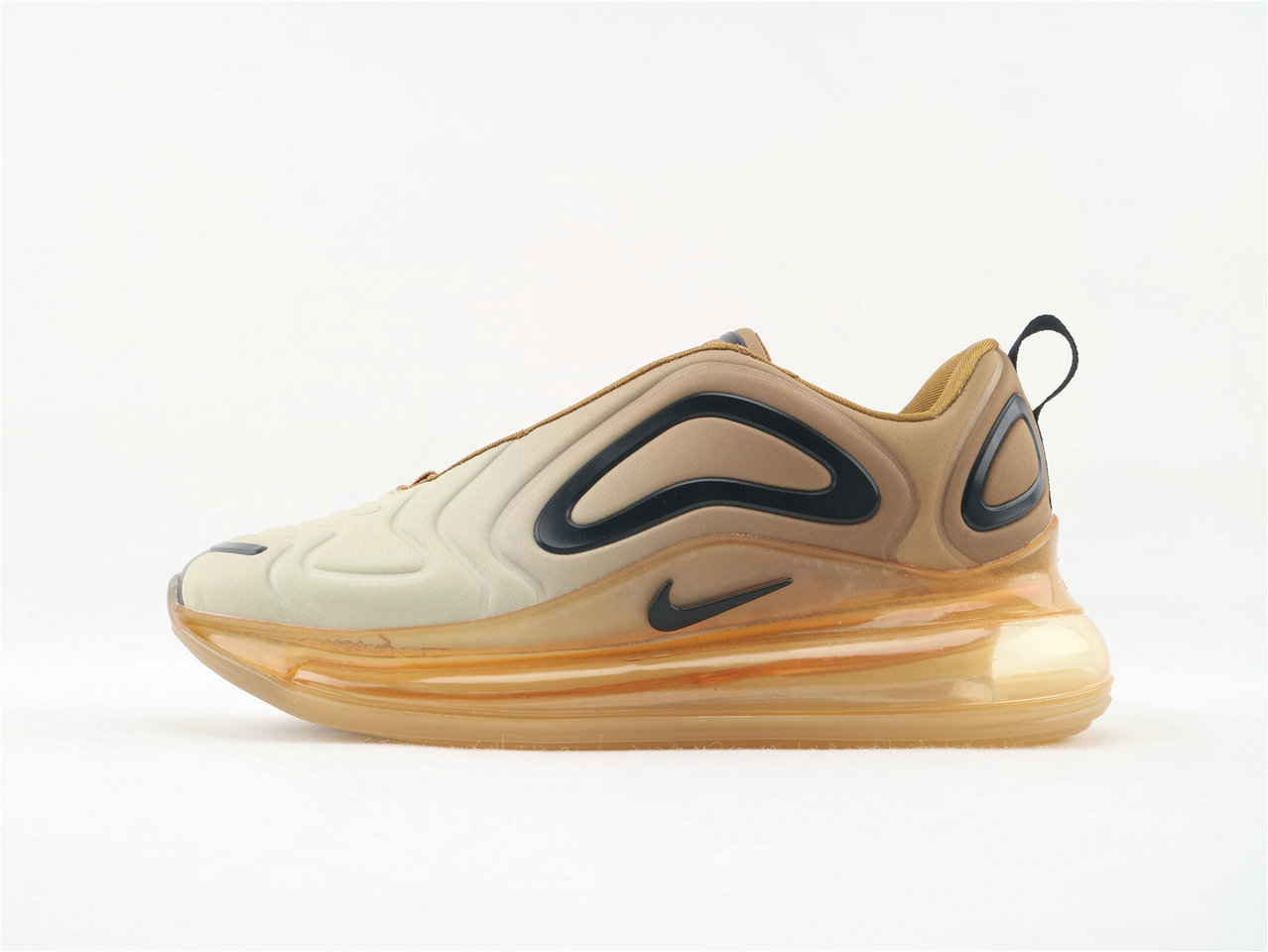 Where To Buy Womens Nike Sportwear Air Max 720 Desert Gold Black AO2924-700