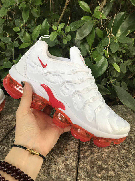 Where To Buy Womens Nike VaporMaxs Plus White University Red