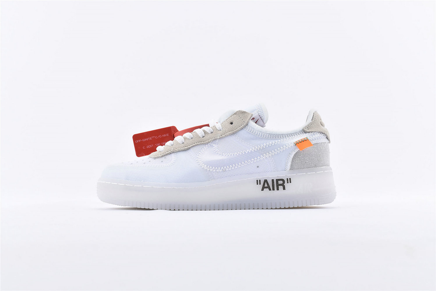 Where To Buy Womens Off-White x Nike Air Force 1 Low White-White-Sail AO4606-100