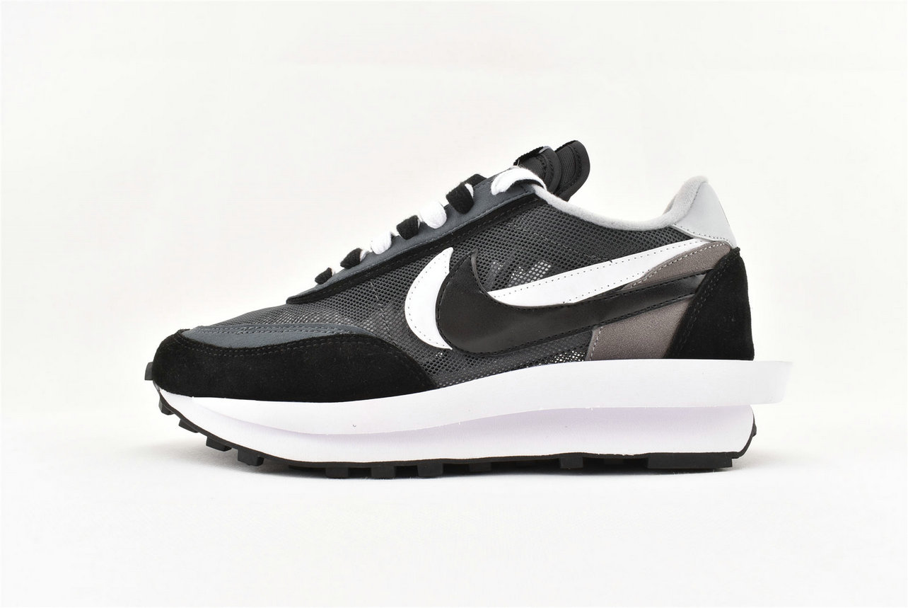 Where To Buy Womens Sacai x Nike LDV Waffle Daybreak Black Grey BV0073 001