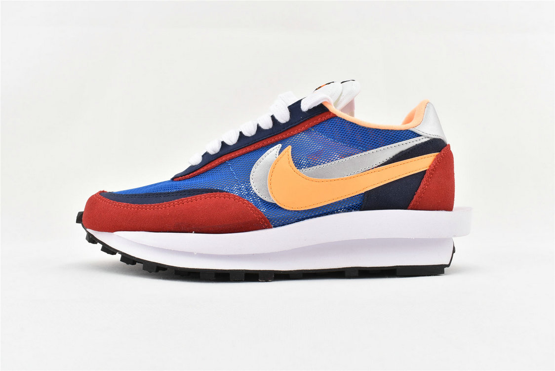 Where To Buy Womens Sacai x Nike LDV Waffle Daybreak Green Gusto Black-Varsity Maize-Safety Orange BV0073-300