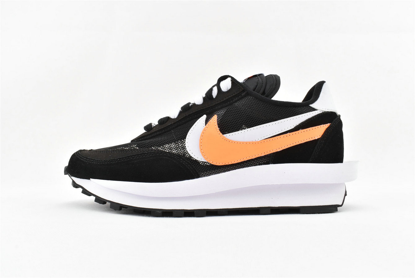 Where To Buy Womens Sacai x Nike LDV Waffle Daybreak Orange Black White BV0073 010