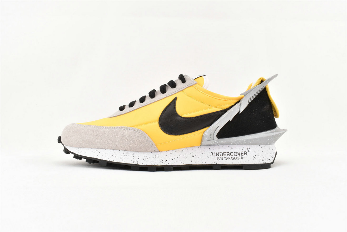 Where To Buy Womens Sacai x Nike LDV Waffle Daybreak Yellow Grey Black AA6853-007