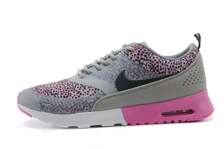 Women Air Max Thea Grey Purple Red