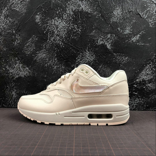 Wholesale Cheap Womens 2019 Cheap Nike Air Max 1 Gets Oversized Jewel Swoosh Logos And Tongue Labels