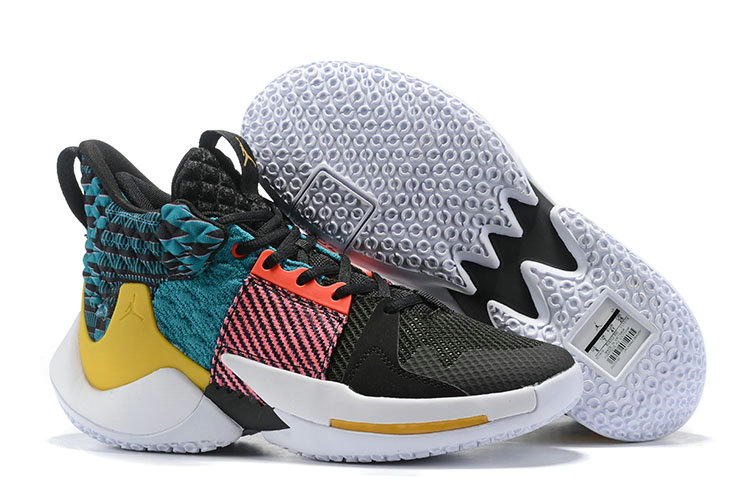 Wholesale Cheap Womens 2019 Cheap Nike Jordan Why Not Zer0.2 BHM Pink Gold Blue Black White