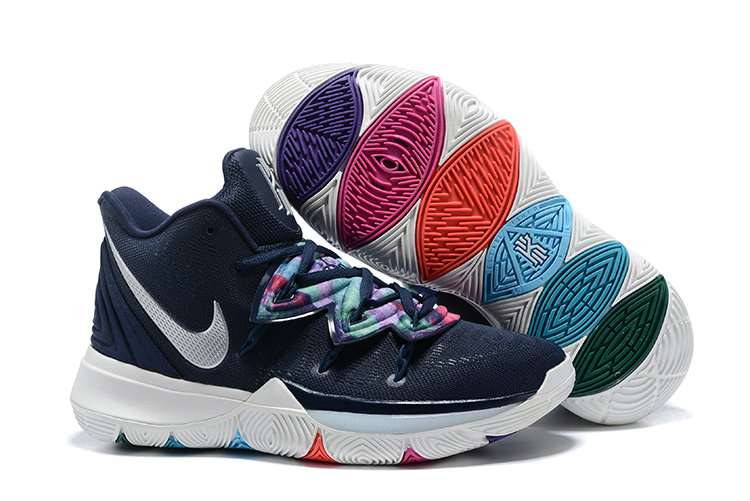 Wholesale Cheap Womens 2019 Cheap Nike Kyrie 5 EP Multi-Color