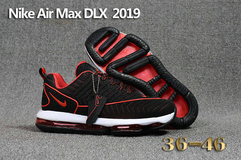 Womens Air Max Nike Cheap Wholesale Air Max DLX 2019 Mens Red Black