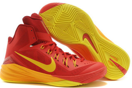 Womens Hyperdunk Cheap Wholesale Red Yellow