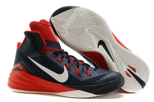 Womens Hyperdunk Cheap Wholesale White Red Blue