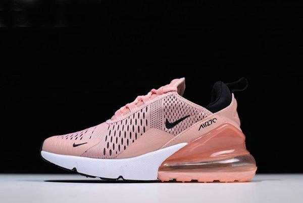 Cheap Wholesale Womens Nike Air Max 270 Coral Stardust Black-Summit White AH6789-600