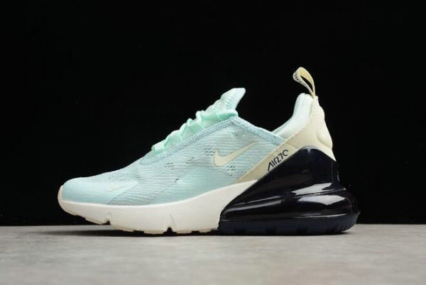 Cheap Wholesale Womens Nike Air Max 270 Mint Green Black-White Running Shoes AH6789-117