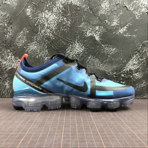 Cheap Wholesale Womens Nike Air VaporMax 2019 AR6631-400 Indigo Force Black Lakeside Indigo Vibrant Rivage Noir