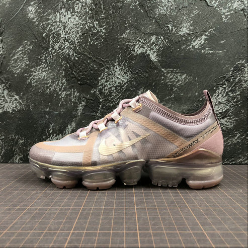Cheap Wholesale Womens Nike Air VaporMax 2019 AR6632-500 Plum Chalk Mtlc Red Bronze Plum Dust Craie Rge