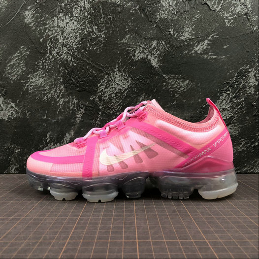 Cheap Wholesale Womens Nike Air VaporMax 2019 AR6632-600 Purple Red Mtllc Silver Pink Violet Argmet Rose