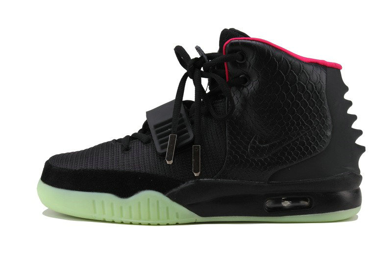 Womens Nike Air Yeezy Black Red