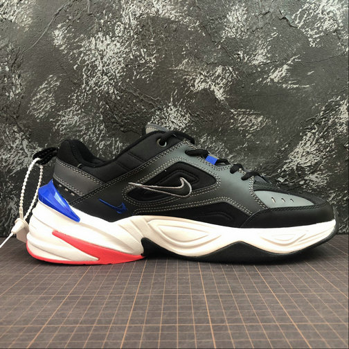 hot sale online 45fe1 c140c Cheap Wholesale Womens Nike M2K Tekno AV4789-003 Dark Grey Black Baroque  Brown Gris Fonce Brun Barogue Noir