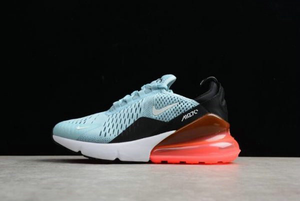Cheap Wholesale Womens Size Nike Air Max 270 Ocean Bliss Black-Hot Punch AH6789-400