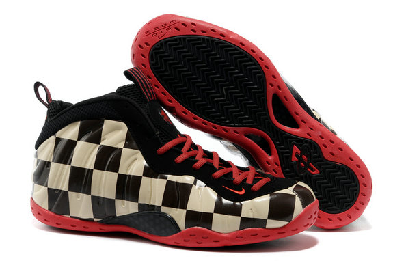 Cheap Wholesale nike air foamposite pro black red brown