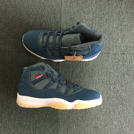 2018 Cheap Air Jordan 11 Retro Levis