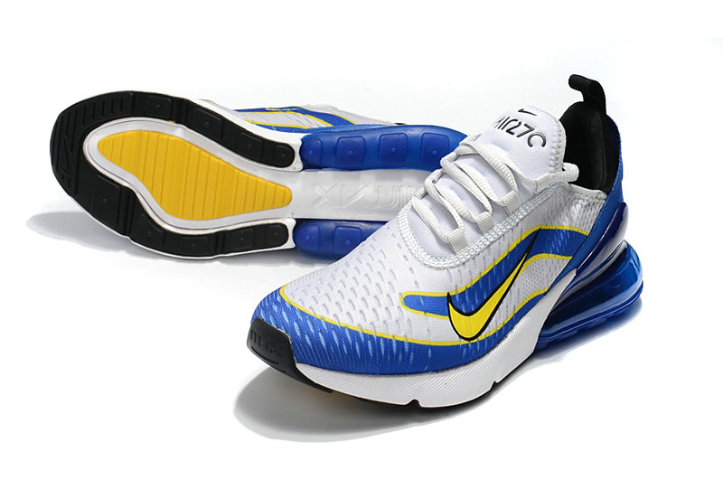 2018 Cheap Wholesale Nike Air Max 270 World Cup Blue White