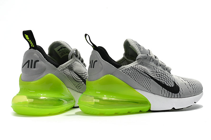 10f87994c1bb95 ... 2018 Cheap Wholesale Nike Air Max 270 World Cup Grey Black Green  Running Shoes