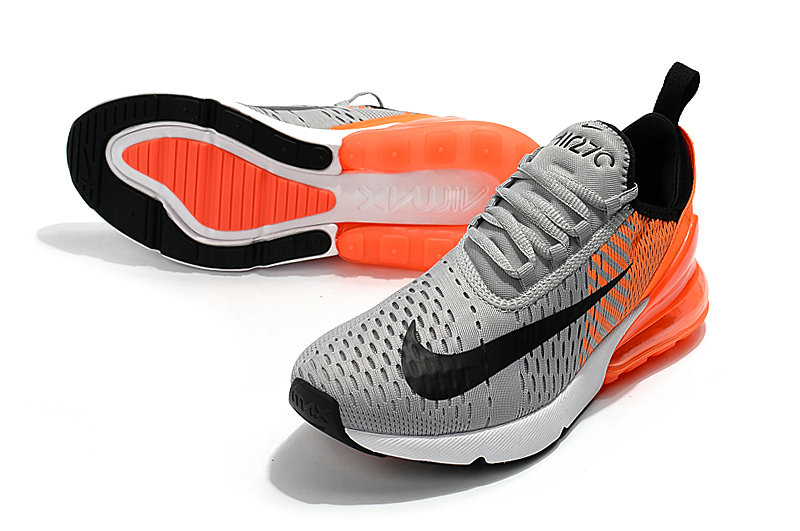 new product 9e940 41f7d ... 2018 Cheap Wholesale Nike Air Max 270 World Cup Orange Grey Black  Running Shoes ...