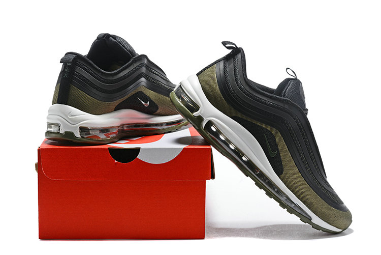 Cheap Wholesale NikeLab Air Max x Cheap Wholesale Nike Air Max 97 Ultra Army Green Black White