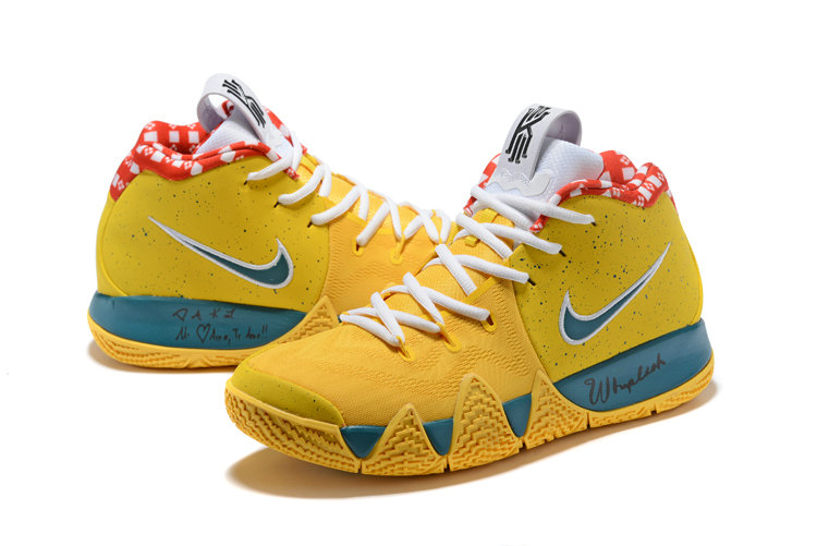 1c270ff2510c ... Cheap Wholesale Nike Kyrie Shoes x Cheap Wholesale Nike Kyrie 4 Yellow  Lobster ...