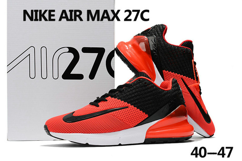 sports shoes 0690a 7d742 ... 2018 Nike Air Max 270 Rubble Patch Red White Black Cheap Wholesale Sale  ...