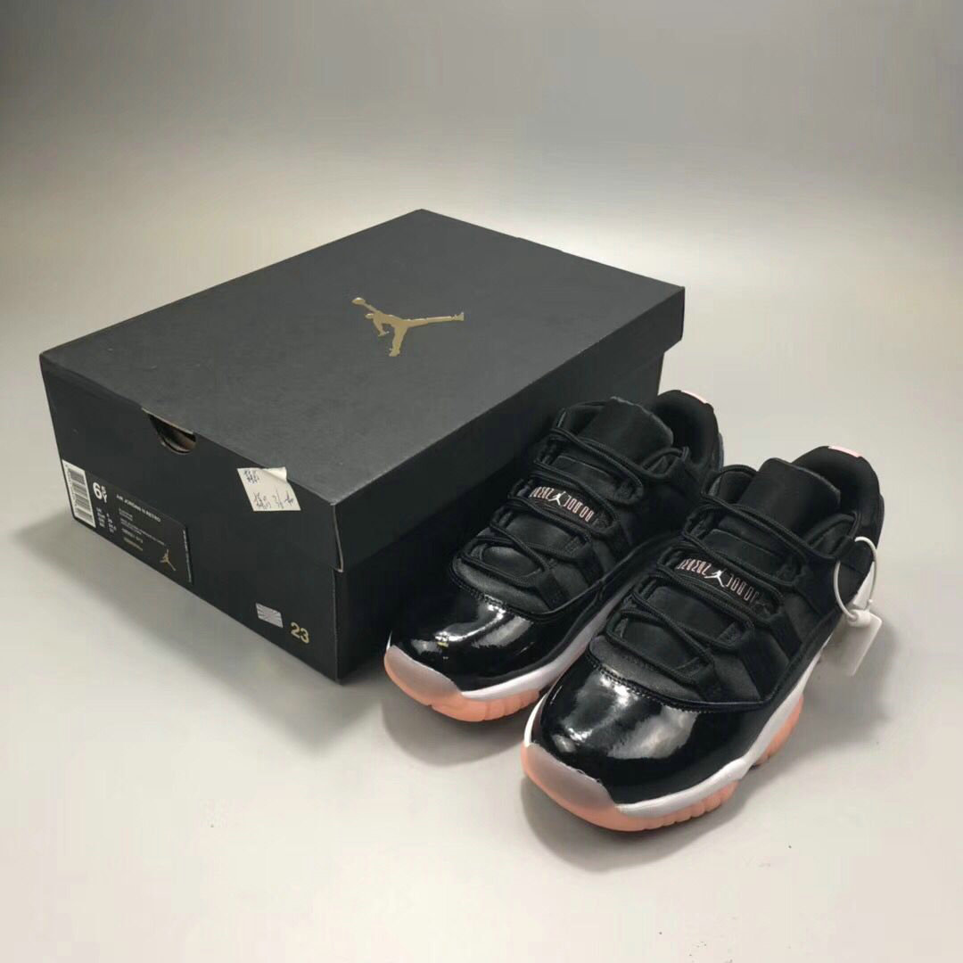 2018 Womens Nike Air Jordan 11 Low Bleached Coral Cheap Wholesale Sale