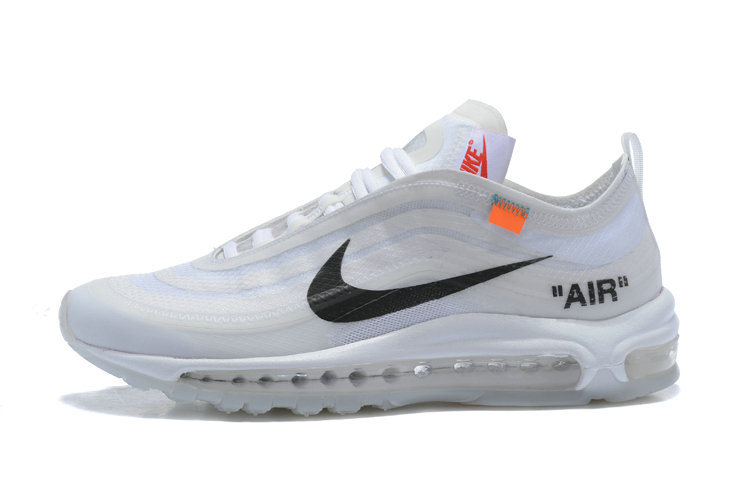 2018 Womens Nike OFF WHITE Air Max 97 SneakerBoots White
