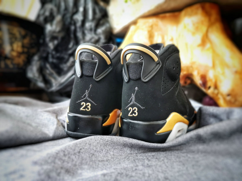 2019 Where To Buy Wholesale Cheap Nike Air Jordan 6 DMP Black Metallic Gold Defining Moments Pack