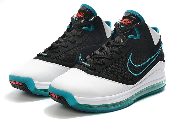 Where To Buy 2020 Nike LeBron 7 Red Carpet White Black-Glass Blue-Chilling Red CU5133-100