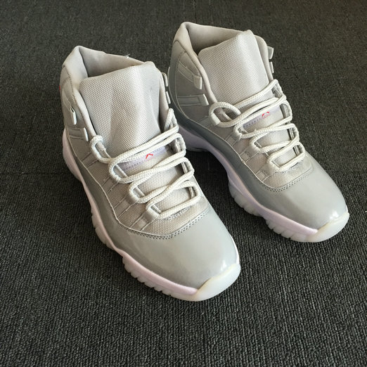 Wholesale Air Jordan 11 Retro Grey Red