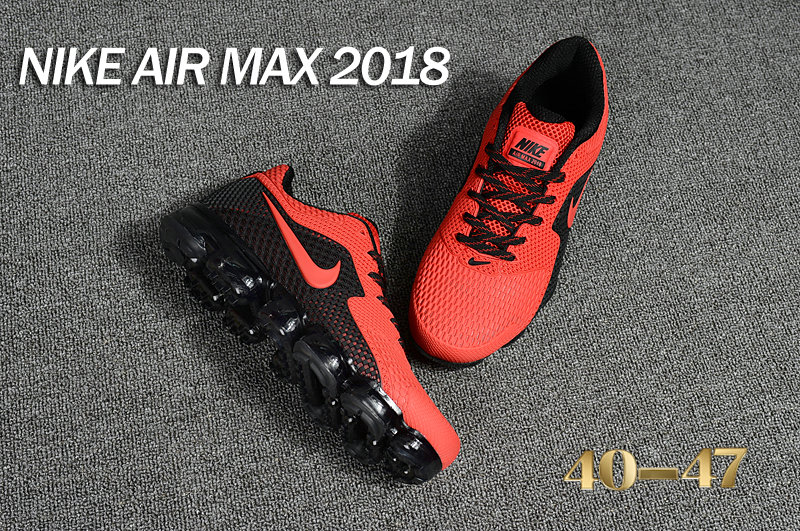 Air Maxs Cheap Wholesale Nike Air Max Day 2018 Red Black