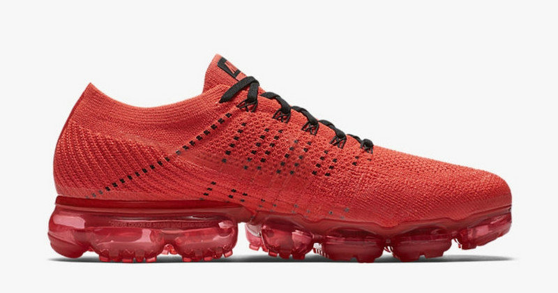Cheap Wholesale NIKE AIR VAPOR MAX WOMENS RED BLACK RUNNING SHOES