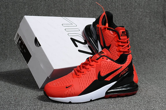 Air Max Cheap Wholesale x Nike Air Max 270 Red Black White